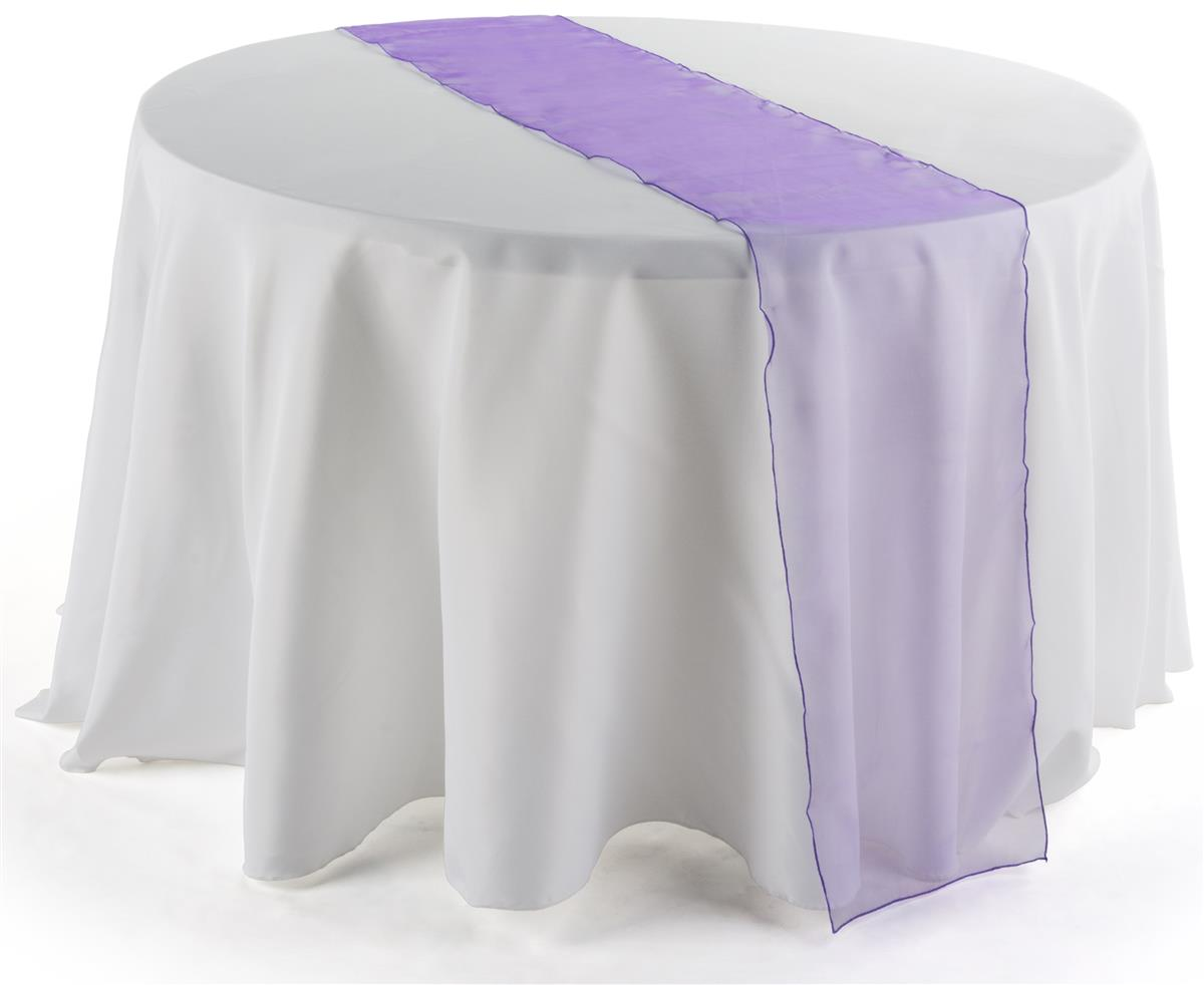 108 inch table runner purple table linen for 108 inch table runners