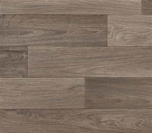 Portable rollable vinyl event flooring in Trace 09 tan woodgrain