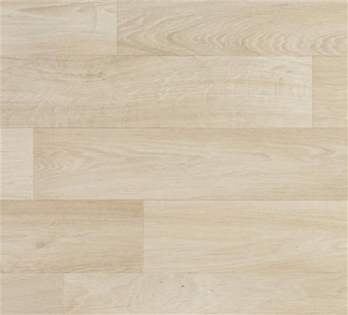 Roll up vinyl exhibit flooring in Trace 75 light woodgrain