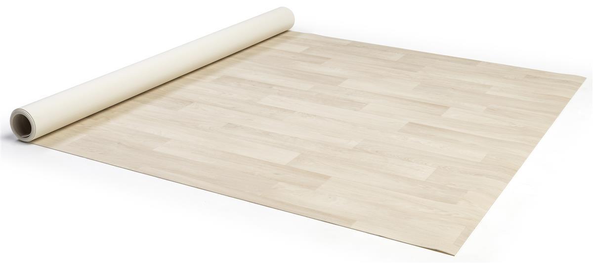 Roll Up Vinyl Exhibit Flooring 10 X10 Comfortflex Blonde Wood