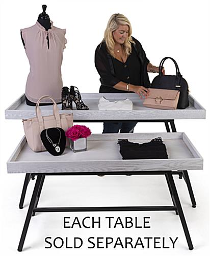 Store dump table with MDF and Metal