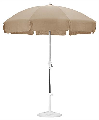 7 5 39 Antique Beige Patio Umbrella Outdoor Furniture