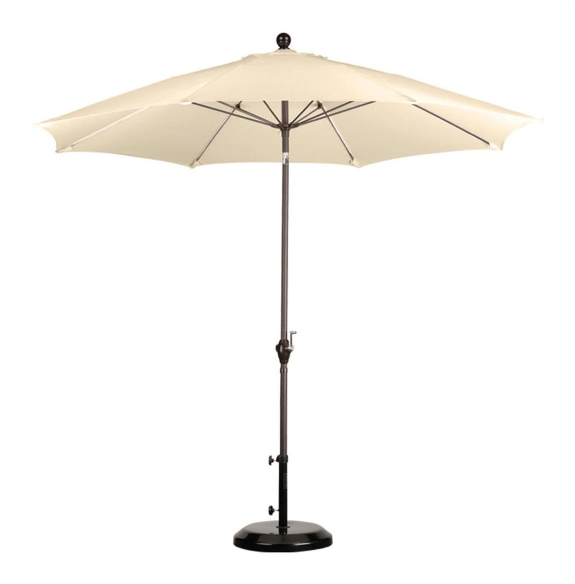 Antique Beige Patio Umbrella 9 39 Canopy
