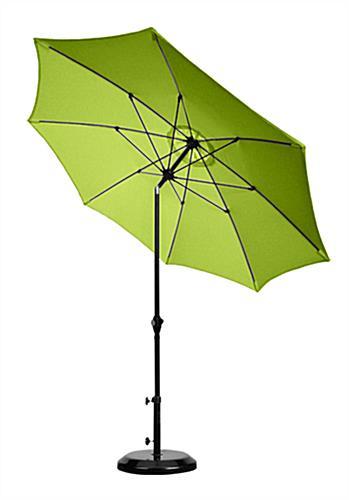 9 lime green patio umbrella outdoor sunshade