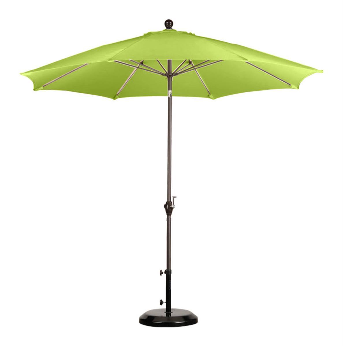- 9' Lime Green Patio Umbrella Outdoor Sunshade