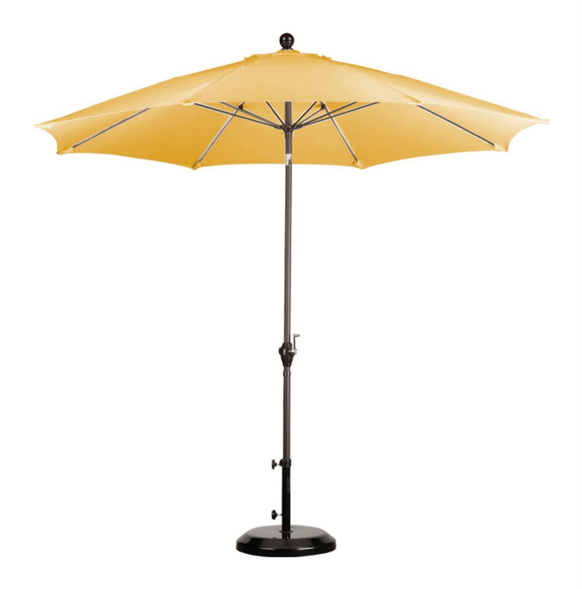 Yellow Umbrella Stand: 9' Patio Umbrella