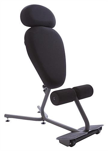 "Ergonomic Kneeling Chair, 3"" Thick Cushion"