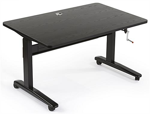 "27"" - 46"" Manual Sit Stand Desk"