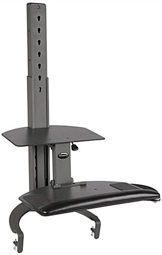 Manual Sit Stand System Keyboard Amp Mouse Tray