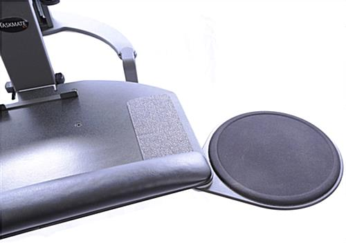 Manual Sit-Stand System, Slide-out Mouse Tray