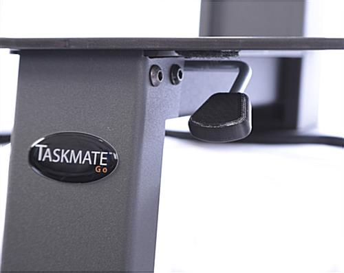 Sit Stand Desk Mount, Manual Adjustment