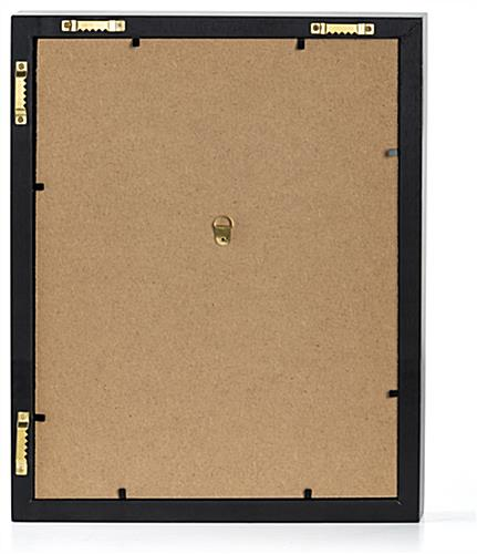 8.5 x 11 frame for magazine with attached hardware