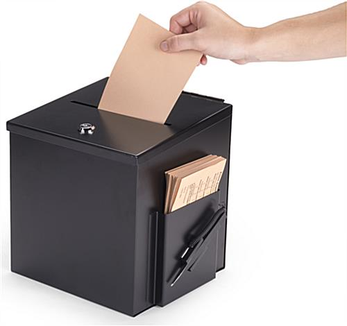 Black Suggestion Box for Offices