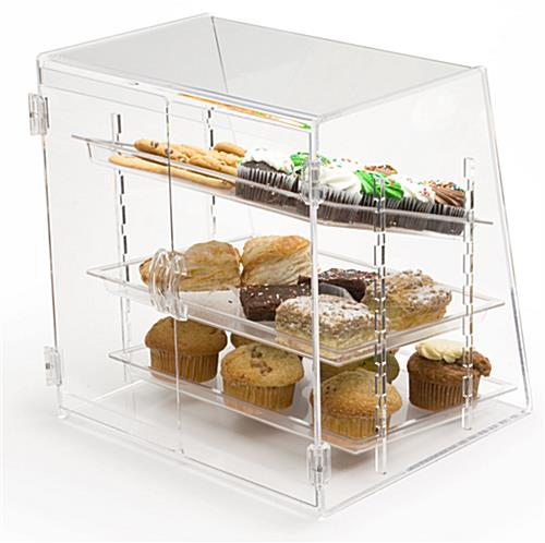 Bakery Display 3 Removable Trays
