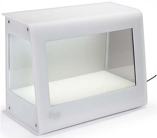 Transparent LCD Box with Interior Lighting