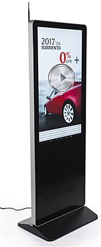 "43"" Digital Advertising Floor Stand Display with Brilliant HD"