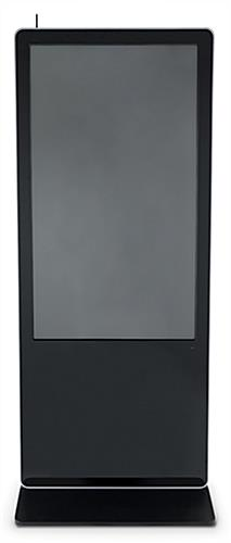 "55"" advertising multimedia kiosk with bezel edge"