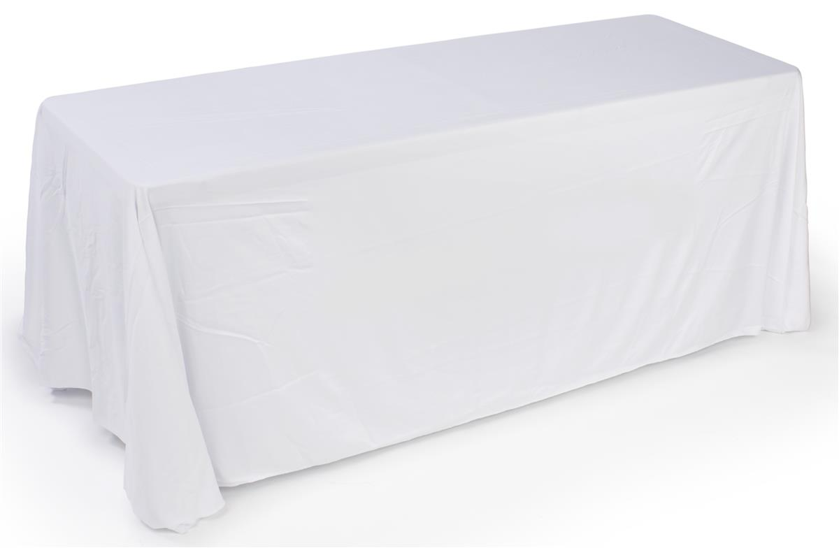6ft Economy Table Cover For Tradeshow Or Convention Use