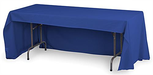 8ft. Economy Table Throw: Royal Blue