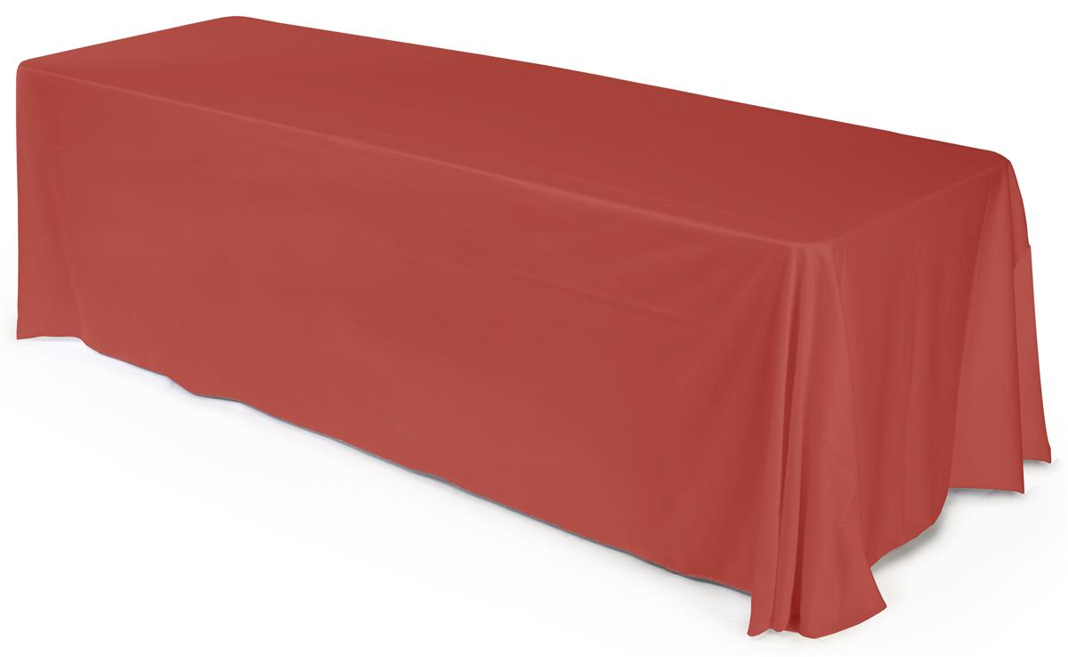 Table Drape For 8 Table Without A Problem Color Red