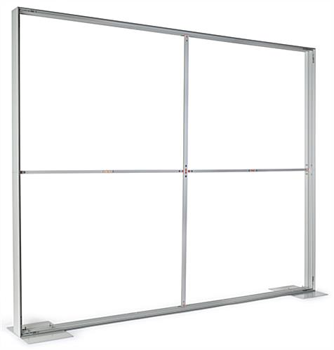 8x10 SEG backdrop with portable aluminum frame