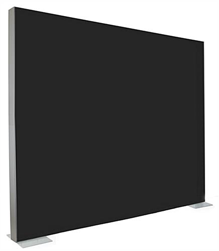 Stretch fabric 1-sided replacement graphic for SEG810W series frames with black back panel
