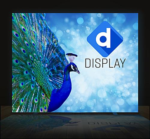 Colorful backlit fabric 2-sided SEG replacement graphic for SEGL810W series LED frames