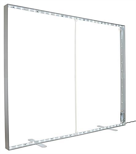 8 x10 SEG Backlit Backdrop Frame | Illuminated Interior