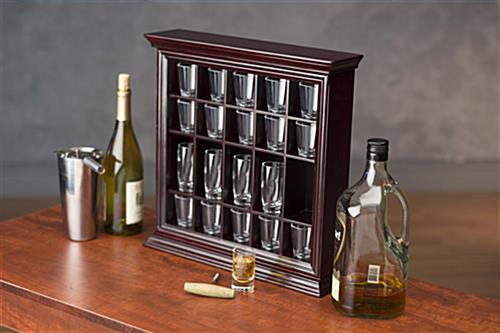 Gentil ... Cabinet Shot Glass Cabinet