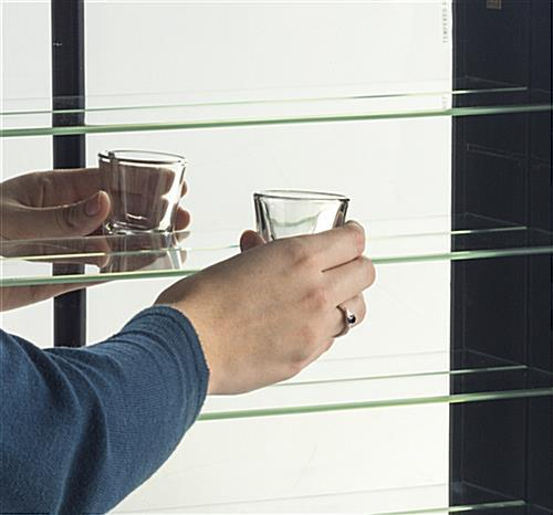 Display Case for Shot Glasses for Small Keepsakes