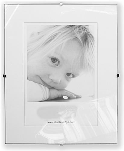 Frameless Glass Picture Frame 16 X 20 Poster Holder