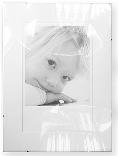 Glass Clip Frames Are Frameless With Glass Panel