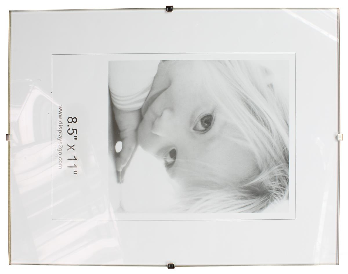 Clip Frame Picture Photo Frames Poster Frameless  A4 A3 A2 10x8 Packs 1 2 3 5 10