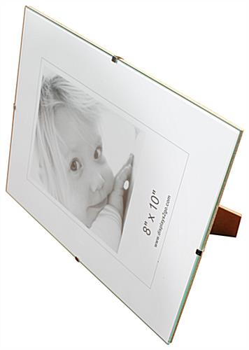 8 x 10 clip picture frames wall mounting frameless design
