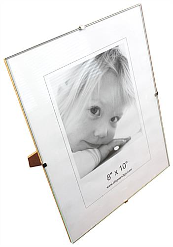 display products picture frames glass clip frames sku shnn8x10