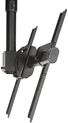 Swivel Ceiling TV Mount, Tilts 25°