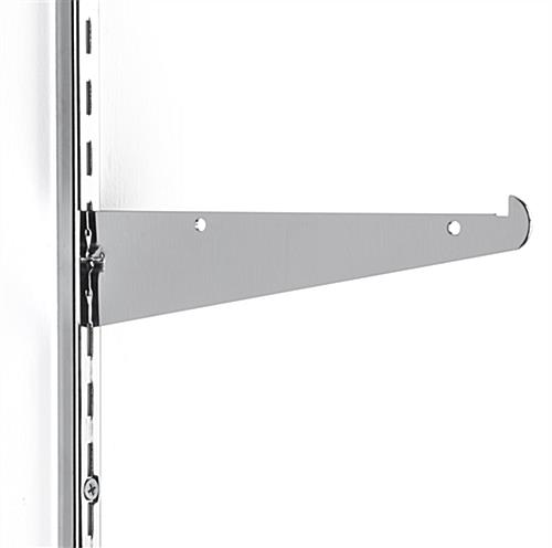 "8"" Slot Shelving Brackets with Steel Construction"