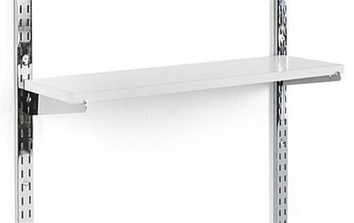 "8"" Slot Shelving Brackets Attaches to Channels"