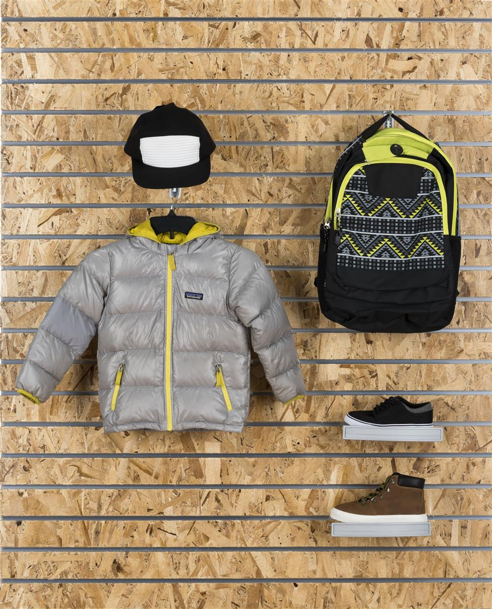 Osb Slatwall Wall Panels Modern Merchandising Displays