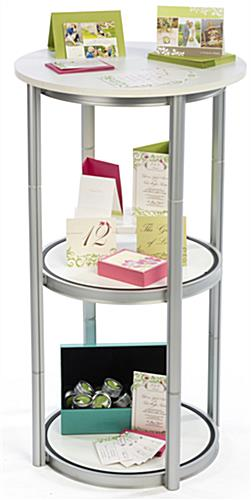 Pirouet portable twist counter with open shelving