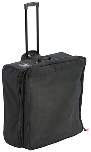 Pirouet portable collapsible showcase with carrying bag