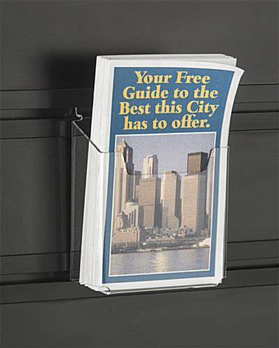"Slatwall Tower with Leaflet Holders for 5.5""w Literature"