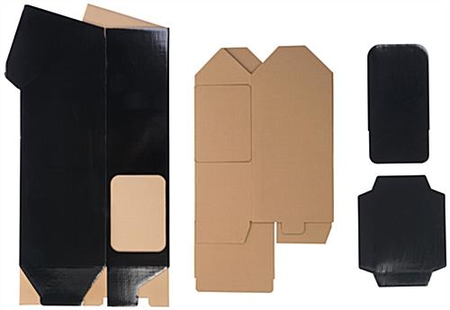Easy-to-Assemble Cardboard Magazine Holder