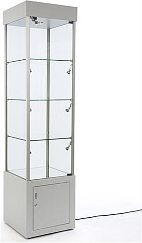 Silver Tower Showcase for Stores
