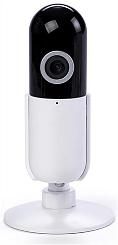WiFi desktop surveillance camera with 64GB TF memory card compatibility