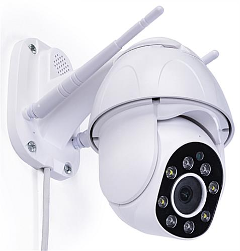 Rotating smart security camera with  3.6mm HD fixed focus lens