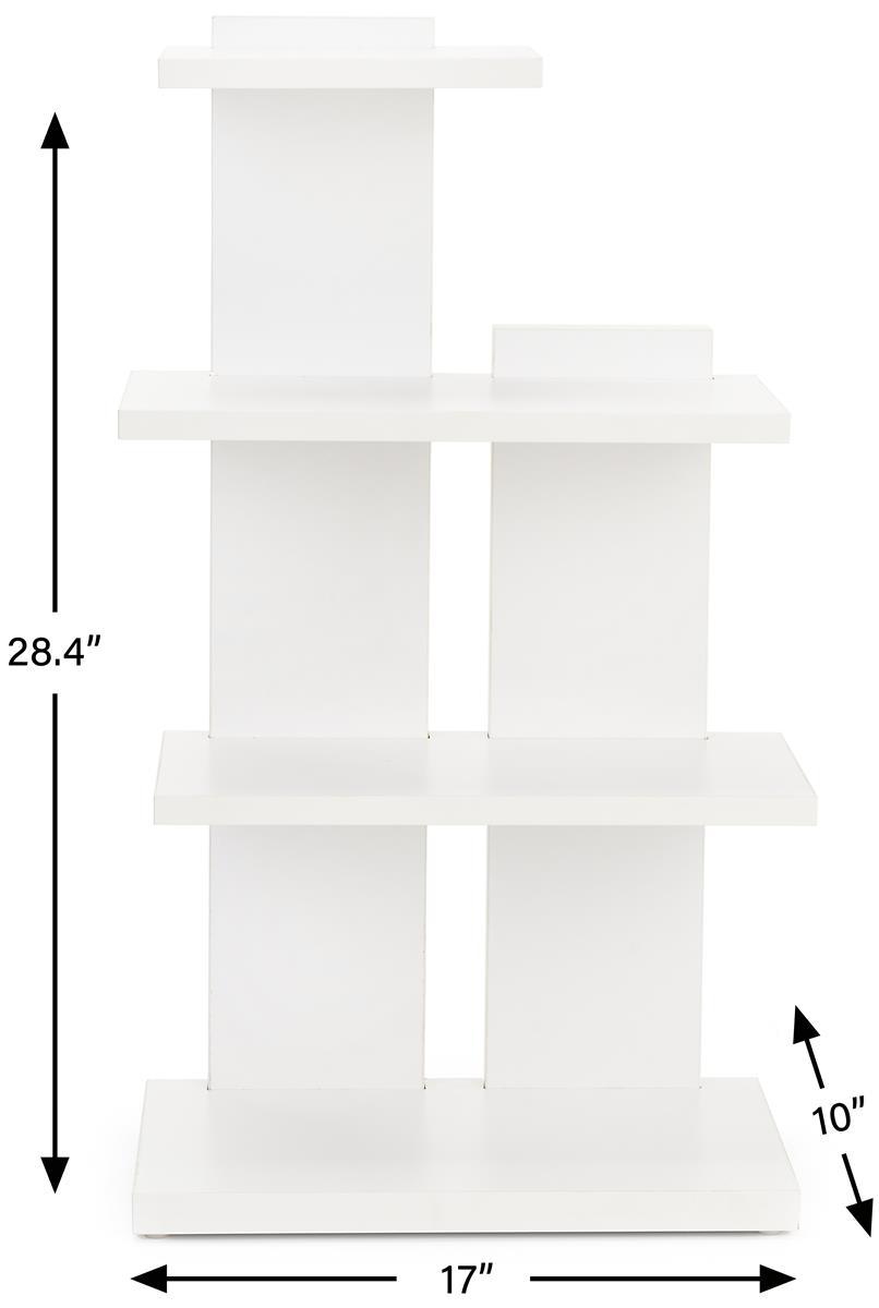 Tiered Retail Shelving Display 3