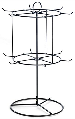 Countertop Spinner Display, 2 Tiers