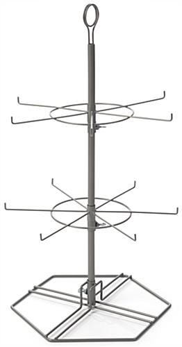 Wire Spinner Rack for Hanging Merchandise