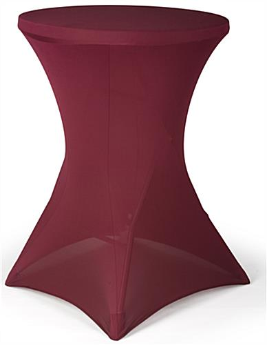 Cocktail Table Spandex Cover is Modern